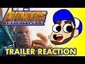 Download Video Download Avengers Infinity War Trailer REACTION - Mattytime 3GP MP4 FLV