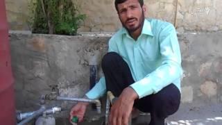 عزت الله آله را اختراع کرده که بدون برق از چاه آب میکشد