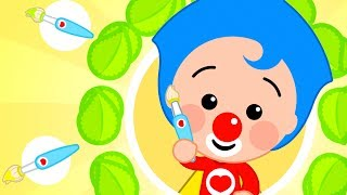 Plim Plim Baby ♫ Let´s paint with sunshine  Nursery Rhymes & Goodnight Song | The Children