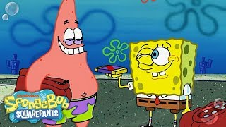 SpongeBob & Patrick: 🍫 Chocolate w/ Nuts 🥜 in 5 Minutes | Nick