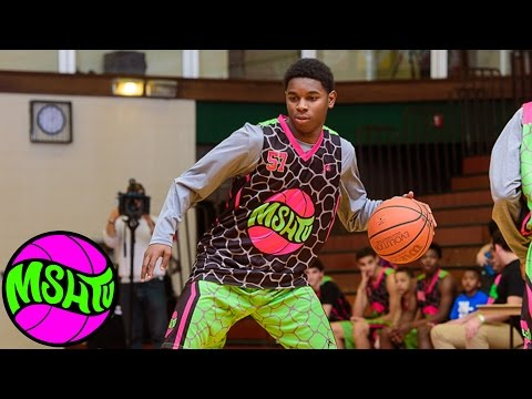 Marquise Walker SWAGGER ON A TRILLION at MSHTV Camp - Class of 2019 Basketball