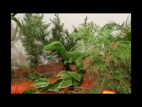 Jurassic Park 4 claymation corto de animación