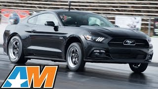 Bama's Nitrous 2015 Mustang GT Goes 10.4 @ 129MPH - AmericanMuscle.com