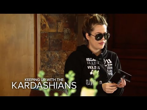 KUWTK Kim Khloe & Kylie Involved in Car Accident in Montana E