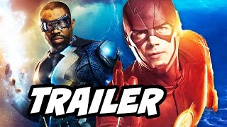 Black Lightning Official Trailer and The Flash Arrow Comics Explained