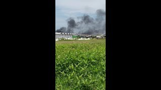 Video amatir detik detik Gudang Mercon di Tangerang Terbakar