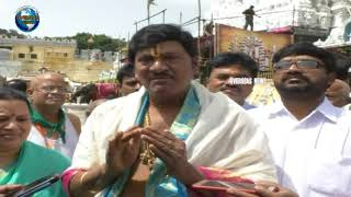 Actor Rajendra Prasad visits Thirumala, feels Blessed after Special prayers | Overseas News