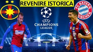 Revenire Istorica In Dubla Cu Bayern München Din UCL - PES 2017 Romania Cariera Cu Steaua