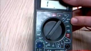 Qué es y cómo funciona un multímetro o polímetro digital