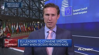 Irish border remains primary obstacle in Brexit talks   Squawk Box Europe