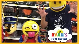 TOY HUNT Ryan ToysReview Shop for Halloween Disney Cars Hot Wheels Peppa Pig Thomas Trains Kids Toys