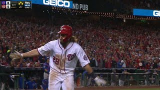 CHC@WSH Gm5: Werth crosses the plate on a wild pitch