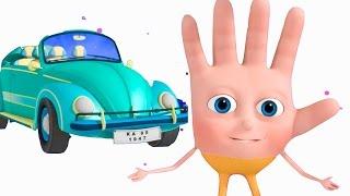 Transport Vehicle Finger Family | VeeJee Surprise Eggs Finger Family | Finger Family Songs