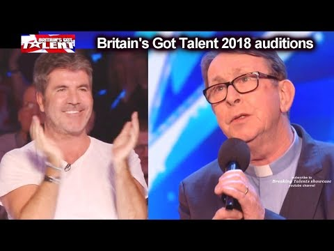 Father Ray Kelly Singing Priest 1 of Simon s MOST FAVORITE AUDITIONs EVER Britain s Got Talent 2018