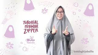 Tutorial Khimar Zipper by Hijab Alila