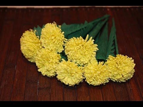 Хризантемы своими руками