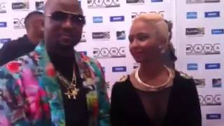 Cassper Nyovest and Boity Thulo at MTV MAMA 2015