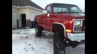 Big Red 1981 Chevy Truck