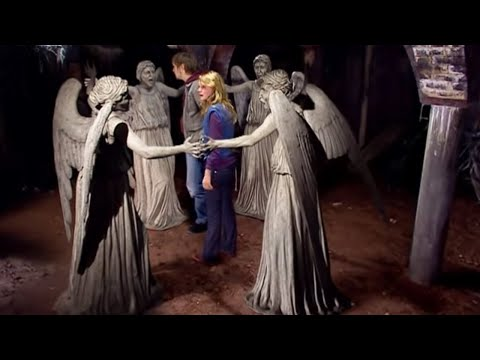 The Weeping Angels attack! - Blink - Doctor Who - BBC