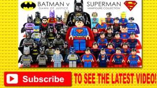 LEGO 2016 Batman v Superman: Dawn of Justice DC Comics Super Heroes Complete Minifigures