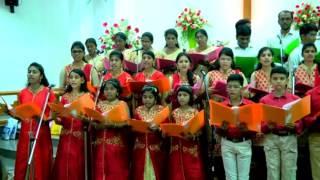 THOONGU PAALA-Tamil Christmas song by CSI St Johns Church Medavakkam Choir-carols 2016