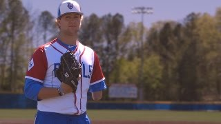 High school pitcher excels on field despite having only one arm