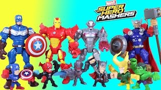 The BEST Of Super Hero Mashers Ultron Avengers Micro Mashers Episodes