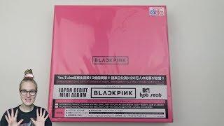 Unboxing BLACKPINK Japan Debut Mini Album BLACKPINK