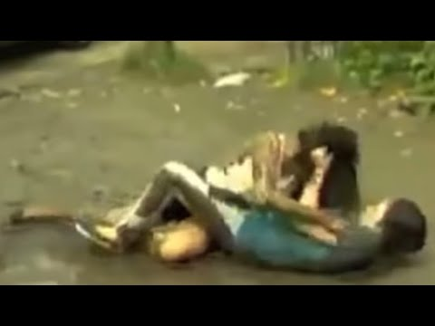 Filipina Catfight In Mud