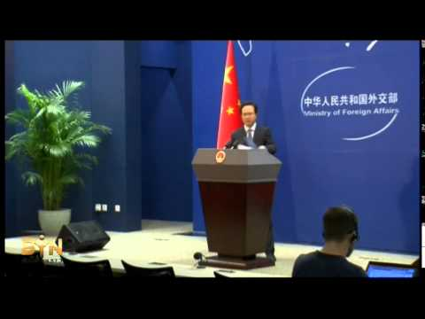 4109WD CHINA-PLANE SEARCH FOREIGN MINISTRY