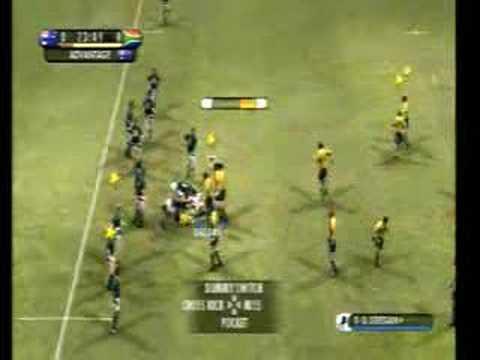 EA Rugby 08 Australia v S Africa ELITE Side View