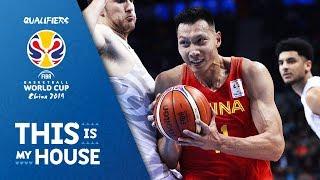 Yi Jianlian - China | Top Plays Rd.1 | FIBA Basketball World Cup 2019 Asian Qualifier