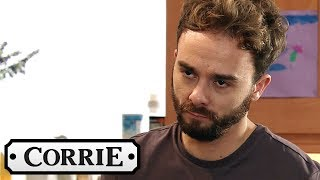 Coronation Street - David Must Face Josh the Next Day   PREVIEW