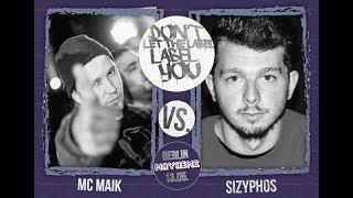 DLTLLY // Rap Battles // MC Maik VS Sizyphos