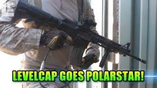 PolarStar PR-15 Electric Pneumatic Airsoft Gun, O-M-G! (Airsoft SC Village Gameplay/Commentary)