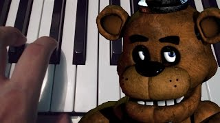Five Nights At Freddy's / Piano Tutorial / Cover / Notas Musicales