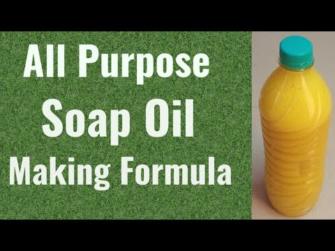 Soap Oil Making Formula in Tamil l Liquid Soap Making Process l சோப் ஆயில் செய்யும் முறை