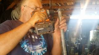 DIY Manual Seed Planter Part 2 of 3