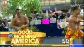 KITV PCC Promo Team performing at Good Morning America - May Day