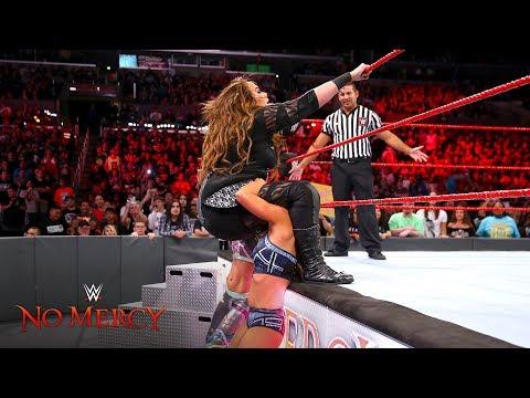 Xxx Mp4 Nia Jax Is Hit Hard With A Quadruple Team Powerbomb WWE No Mercy 2017 WWE Network Exclusive 3gp Sex