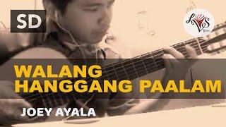 Walang Hanggang Paalam - Joey Ayala (solo guitar cover)