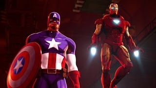 Iron Man and Captain America: Heroes United 2014 film