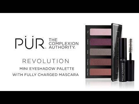 Revolution Mini Eyeshadow Palette with Fully Charged Mascara