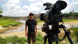 Searching for River Treasure Makes the News!
