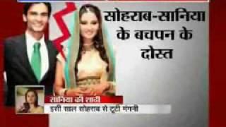 Shoaib Malik and Sania Mirza  :- Latest Hot News