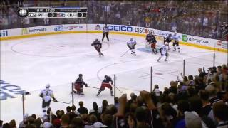 Bob Cole calls Penguins at Columbus end of game 4 (04-23-14)