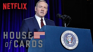 Frank Underwood Presidential Portrait Unveiling - House of Cards   Smithsonian NPG   Netflix