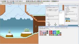 Platform Game Editor SMBX | Level Editing Timelapse