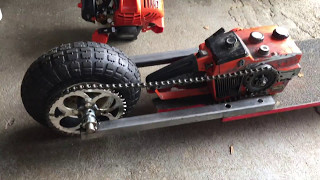 The Chainsaw Skateboard