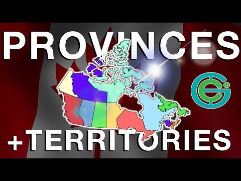 CANADA Provinces Territories explained Geography Now